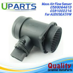 UPARTS Brand New,OEM Quality Mass Air Flow Meter MAF Sensor For Audi A4/A6/Seat Cordoba/Vw passat/Polo/028906461/038906461D