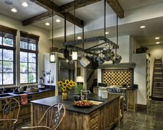 Rustic Kitchen Island Design, Pictures, Remodel, Decor and Ideas - page 3