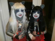 Purrsephone and Meowlody The Werecat Twins Monster High