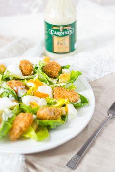 Krokante kip ceasar salade
