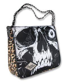 Womens Wallets Rock Festival With Skull Leather Passport Wallet Coin Purse Girls Handbags