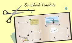 #FreePreziTemplate using a scrapbook motif to copy and reuse
