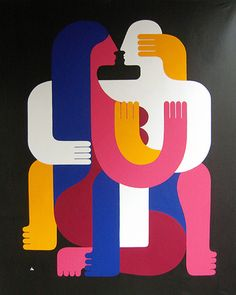 Mod Op Pop Abstract Art by Remed - French-born Spain based fine artist & muralist (link goes to Juxtapoz Magazine article on his work) Graphic Illustration, Graphic Art, Illusion Art, Art Graphique, Mural Art, Street Artists, Graffiti Art, Graphic Design Inspiration, Oeuvre D'art