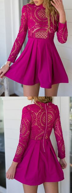 We're catching your eye and we're not even sorry. Cuz we believe it is necessary for you to spend your time taking a look at the sexy fashion dresses.