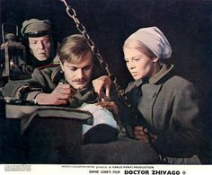 """Doctor Zhivago"" Omar Sharif, Julie Christie 1965"