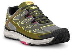 in stock c5b71 4b63a Amazon.com   Topo Women s MT-2 Trail Running Shoes Grey   Olive 7   Trail  Running