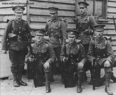 British soldiers of the First World War