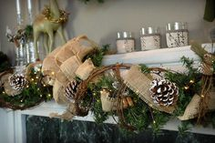 Grapevine Wedding Table Decorations | Grapevine Garland 15ft