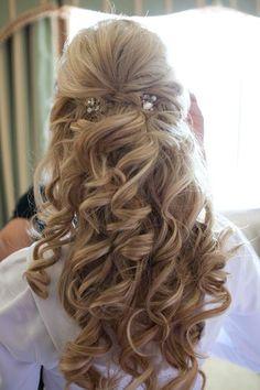 Erika's Wedding Hair