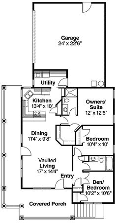 Welcoming Wraparound Porch - 72558DA   1st Floor Master Suite, CAD Available, Corner Lot, Country, Den-Office-Library-Study, Narrow Lot, Northwest, PDF, Wrap Around Porch   Architectural Designs