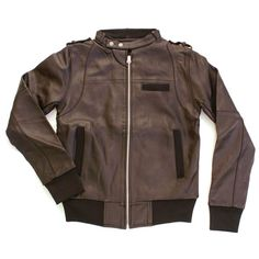 recycled leather jacket, cute!