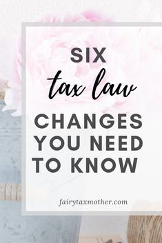 Must read before you file your 2018 personal tax return - Form 1040. Learn how these 6 tax law changes will impact your 2018 individual tax return and your refund.