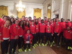 2016 U.S. Olympic Team Gets Their Day at the White House