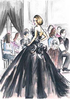 Dior Fashion Week #fashion #Illustration