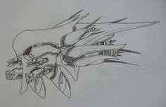Locust Interceptor alien ship by Angryspacecrab on deviantART Alien Ship, Sci Fi, Deviantart, Space, Floor Space, Science Fiction, Spaces