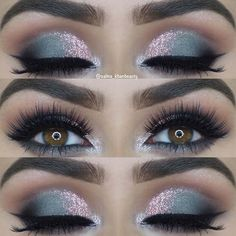 23 Glam Makeup Ideas for Christmas