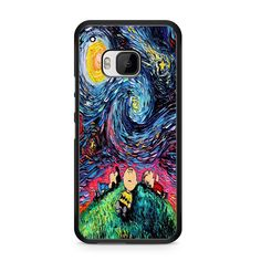 Van Gogh Starry Night Snoopy Peanuts For HTC ONE M9 Case