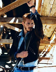 Alexander Ludwig photographed by Justin Campbell for Flaunt Magazine Alexander Ludwig Vikings, Vikings Actors, Flaunt Magazine, Justin Campbell, Alexander Dreymon, The Fashionisto, Travis Fimmel, Calvin Klein Underwear, Guy Pictures