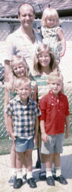 ABT UNK: Wordless Wednesday: Family Fifty Years Ago, Sometime Before October 1966 #genealogy