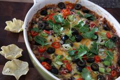 Feeling Dippy? Hot Black Bean Fiesta Dip (plus a few more dips to snack on while watching college football this weekend)