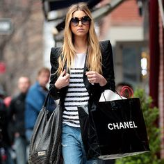 Shop Smart Every Time - Shop Alone from #InStyle
