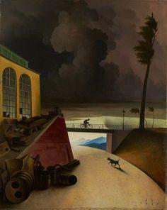 Franz Sedlacek - Gewitterlandschaft, 1936.