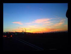 Palmdale's beautiful sunset!!!