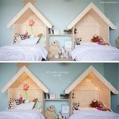 SnapWidget | Adaptação de casinha para camas, apaixonei! #aconchegante