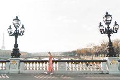 Serena of Find Us Lost in Paris wearing Paper Crown