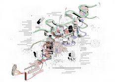 AA Diploma 2 Minh Duc Le. Tutor: Didier Faustino and Kostas Grigoriadis #architectureportfolio #landscapearchitectureportfolio