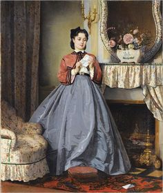 Auguste_Toulmouche_-_The_Love_Letter,_1863 (2)