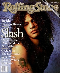 Slash Rolling Stone Cover