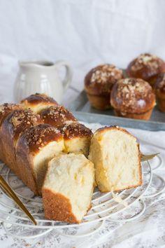 Brioche francés. La receta perfecta Pan Dulce, Biscuit Bread, Pan Bread, My Recipes, Sweet Recipes, Baking Recipes, Pozole, Cooking Chef, Cooking Time