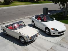 Father and Son...Honda S600 and S2000