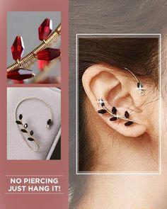 Wire Jewelry Designs, Handmade Wire Jewelry, Jewelry Patterns, Handmade Accessories, Wire Wrapped Jewelry, Earrings Handmade, Ear Jewelry, Beaded Jewelry, Jewellery
