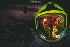 Safety first. Helmet : MSA Gallet Gloves : Kinetixx X-Mamba Volunteer Firefighter, Safety First, Firetruck, Firefighting, Fire Department, Helmet, Gloves, Instagram, Volunteers