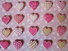 galletas fondant corazon - Buscar con Google