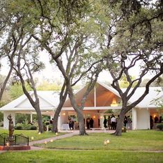 Open Air Pavilion at Winfield Inn // photo by: Caroline Joy // Reception Site: The Winfield Inn // http://www.theknot.com/weddings/album/a-casual-southern-wedding-in-austin-tx-137223