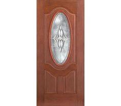 Therma-Tru Doors - Therma Tru Fiber Classic Mahogany Door - 3/4 Deluxe  sc 1 st  Pinterest & Therma-Tru Doors | Therma Tru Fiber Classic Mahogany Door ...