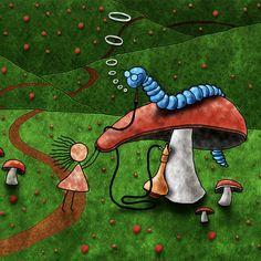 Alice In Wonderland, Animal Cell, Kids Rugs, Draw, Embroidery, Wallpaper, Animals, Studio, Decor