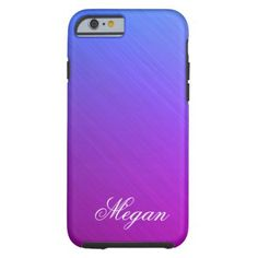 Miami Shine  Personal Tough iPhone 6 Case - brushed metal gifts cool unique special gift idea