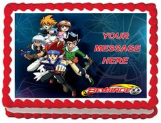 Party Supply-Cake Toppers for sale Beyblade Cake, 10th Birthday Parties, 7th Birthday, Birthday Ideas, Birthday Cake, Character Cakes, Edible Cake Toppers, Party Cakes, Party Ideas