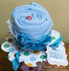 Onesie Cupcake Tutorial
