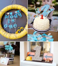 Construction Truck Birthday Party Planning Ideas Decorations Supplies