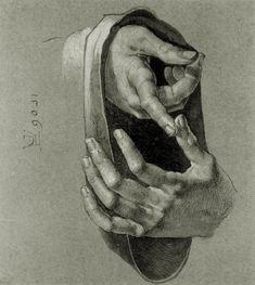 Albrecht Dürer | Hand study | Tutt'Art@ | Pittura * Scultura * Poesia * Musica |