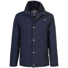 Jack Murphy Mens Castledermot Quilted Jacket Heritage Navy | Naylors.com