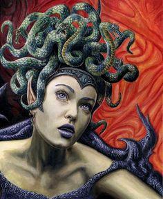 Medusa by Lodgraph.deviantart.com on @deviantART