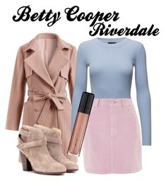 """""""Riverdale Betty Cooper"""" by alisenok-57 on Polyvore featuring Storm & Marie, Topshop, rag & bone and L'Oréal Paris"""