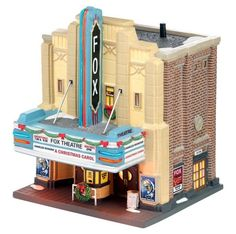 DEPT 56 D56 CHRISTMAS IN THE CITY FOX THEATRE VILLAGE BUILDING DECORATION NEW