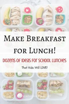 Breakfast For Lunch! — What Lisa Cooks